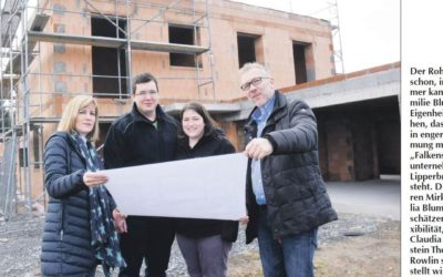 Bauherreninterview mit Julia und Mirko Blume