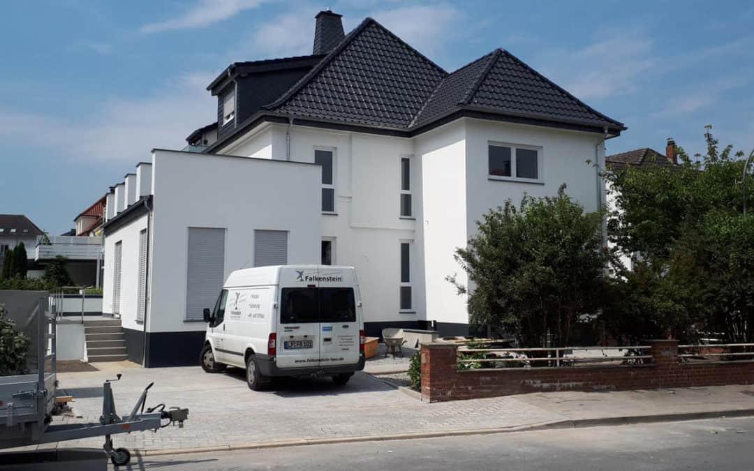 Sanierung einer Doppelhaushälfte in Lippstadt