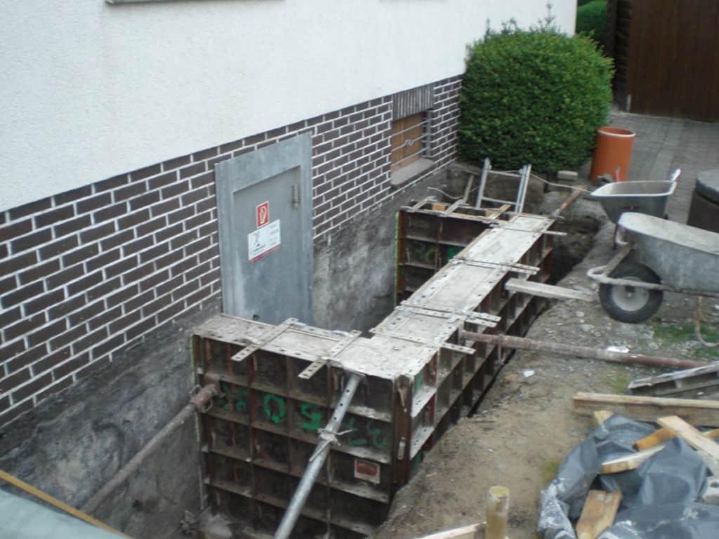 Anbau Umbau Kreis Soest Kellerhalssanierung 02