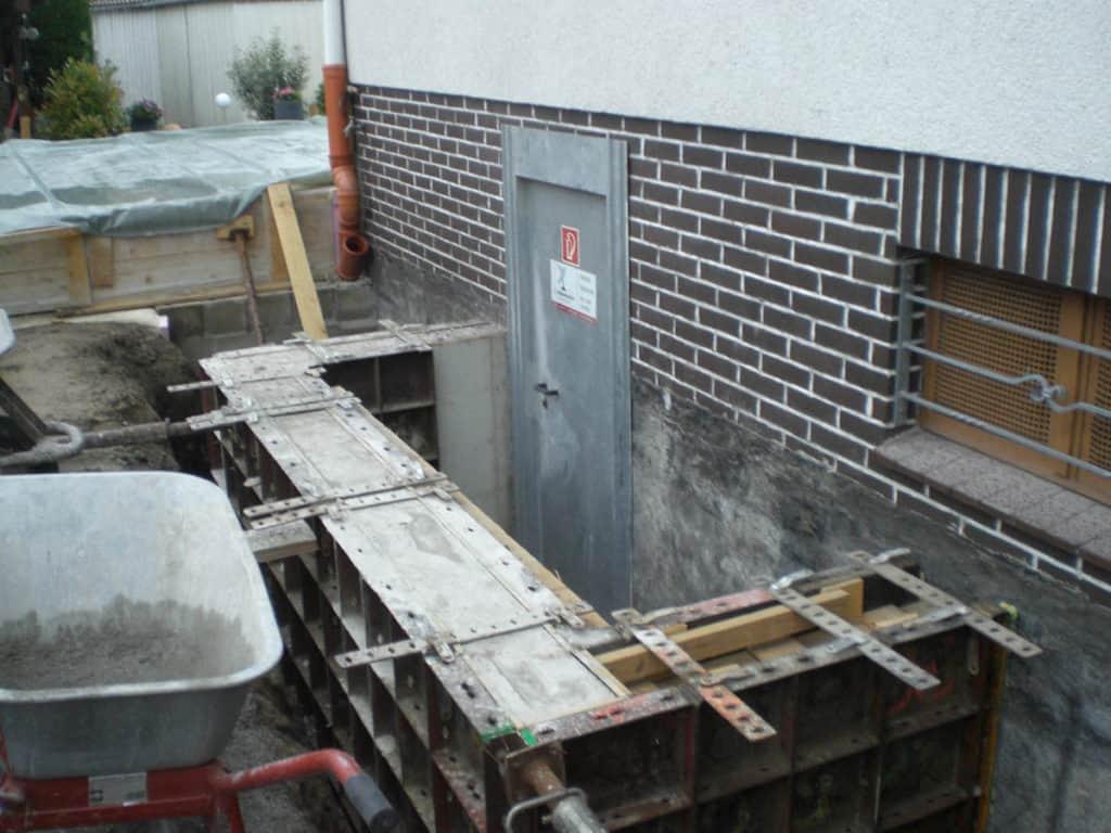 Anbau Umbau Kreis Soest Kellerhalssanierung 03