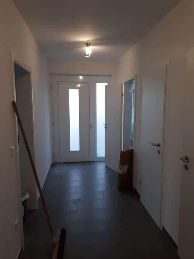 Bauunternehmen Bungalow Flur Hauseingang Kreis Soest 01