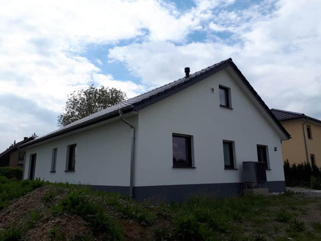 Bauunternehmen Bungalow Seitenansicht Kreis Soest 22