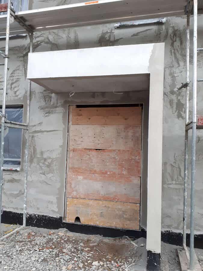 Geseke Bauunternehmen Schluesselfertig Bauen Fassadenputz 4