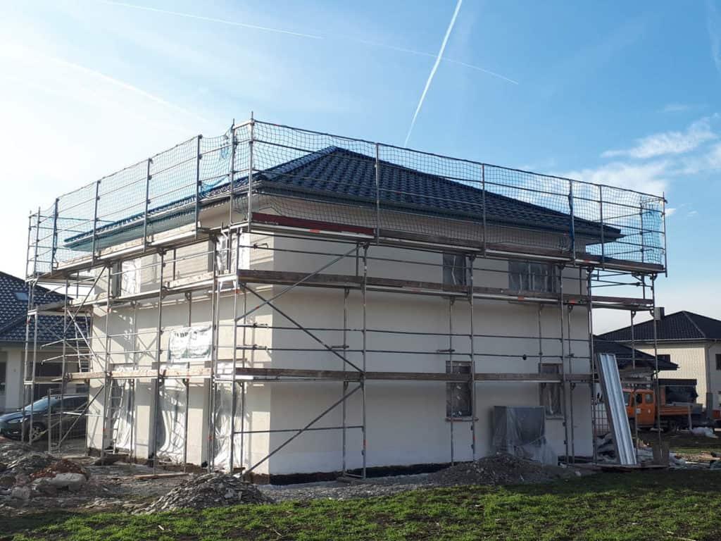 Geseke Bauunternehmen Schluesselfertig Bauen Fassadenputz 5