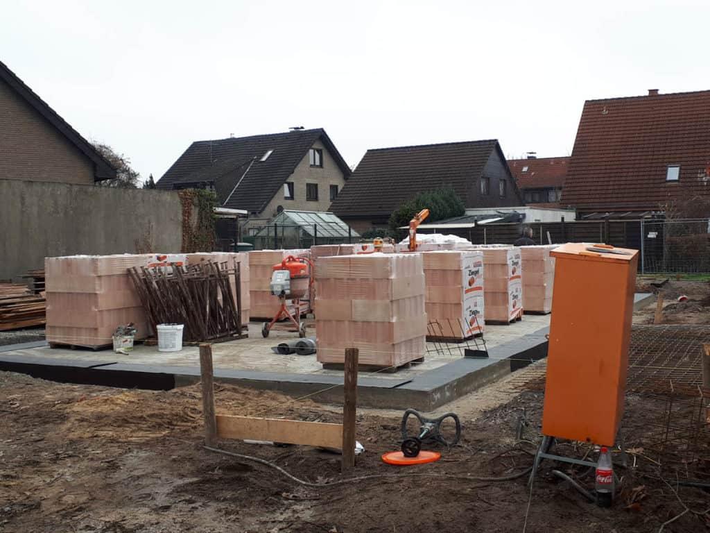 Gewerblich Bauen Betriebsgebaeude Bodenplattte Rohbau 05