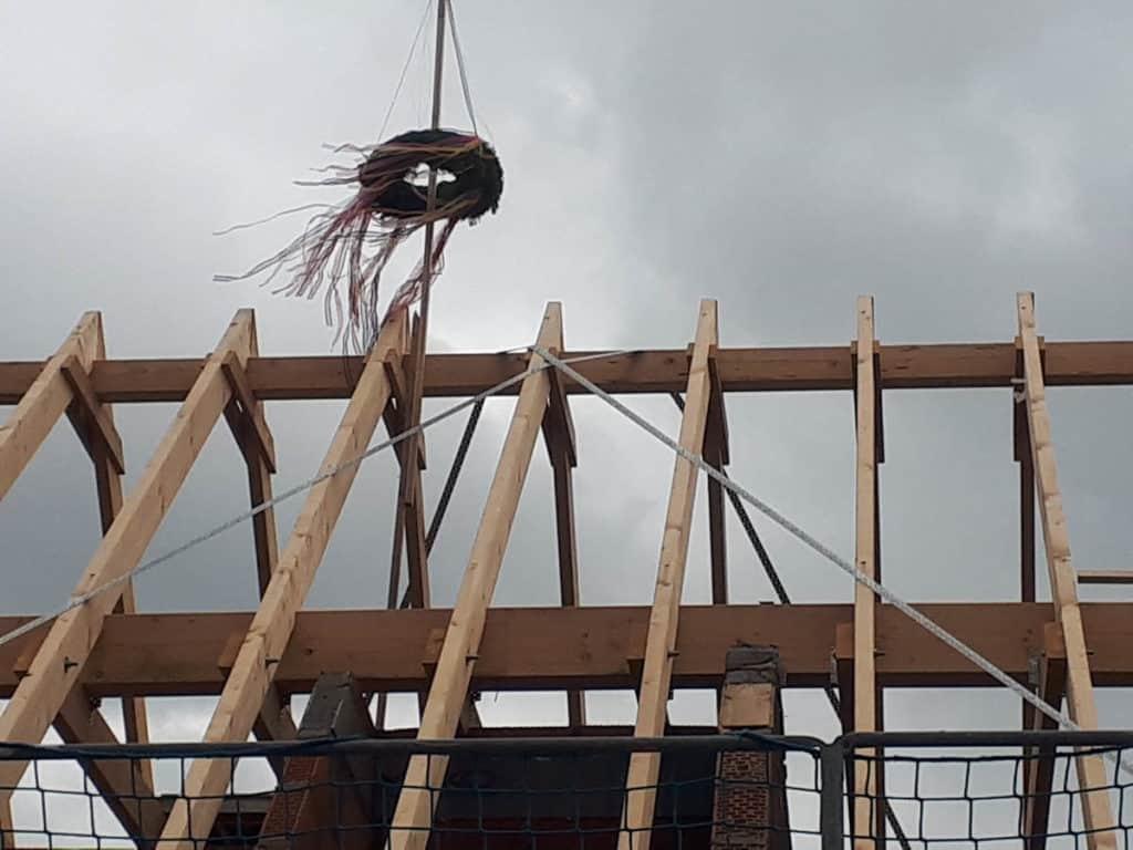 Gewerblich Bauen Betriebsgebaeude Richtfest 09