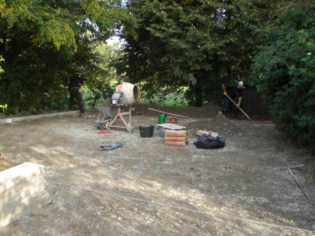 Pflasterarbeiten Lippstadt Unterbau Kantensteine 02