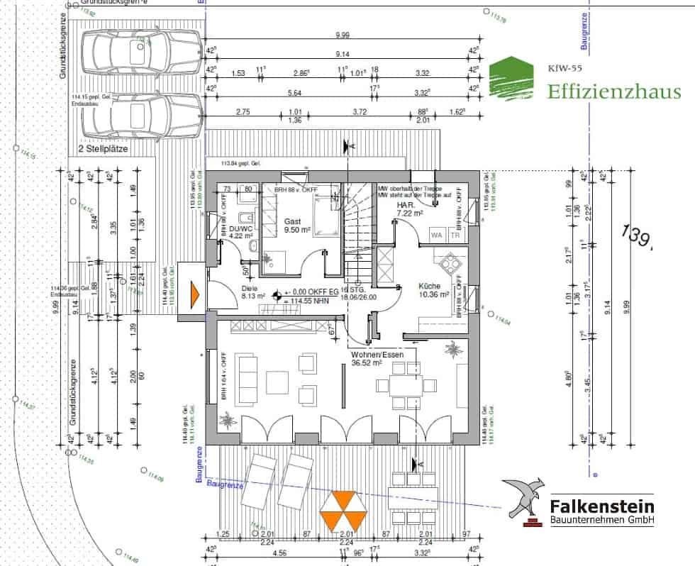 Stadthaus Geseke Grundriss Erdgechoss