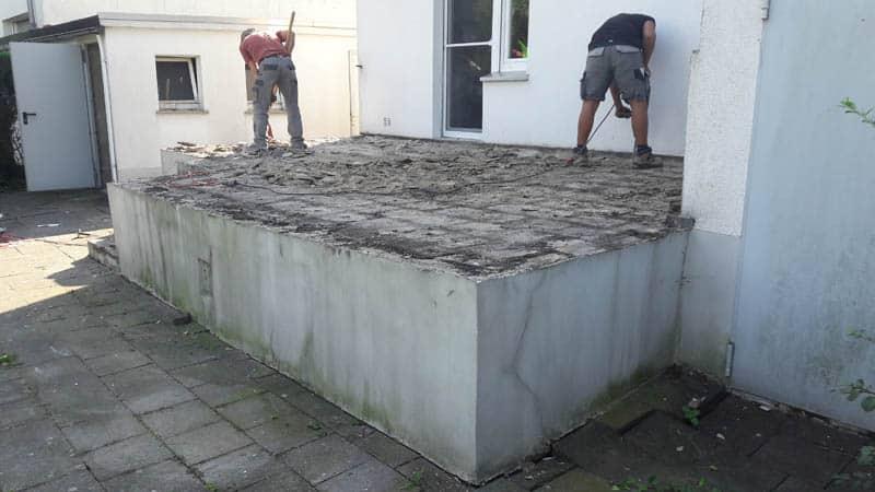 Terrassen Sanierung 3