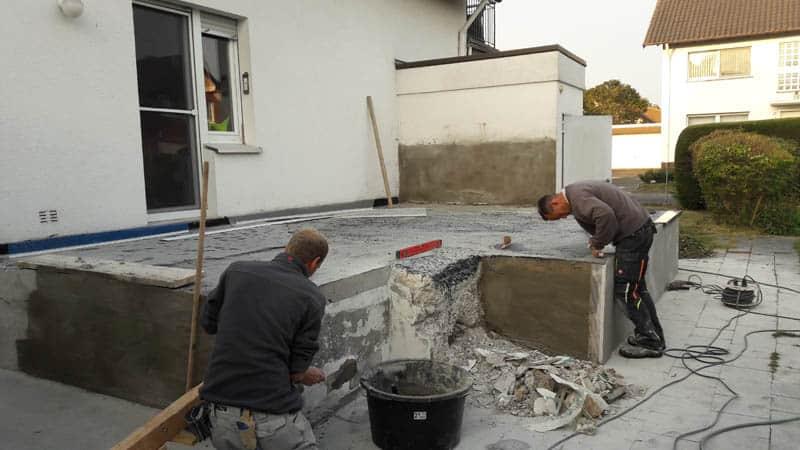 Terrassen Sanierung 4