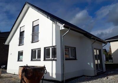 Neubau eines Einfamilienhauses mit Satteldach