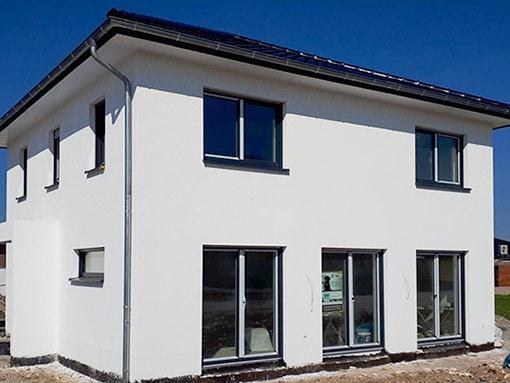 Einfamilienhaus Geseke Putz Klein