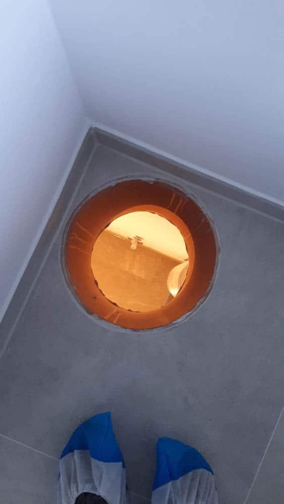 10 Waescheschacht Boden Badezimmer