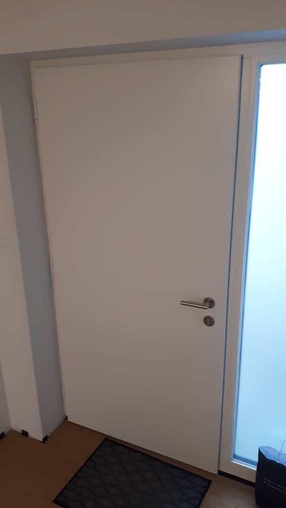 Haustür Innen Fluegelüberdeckend
