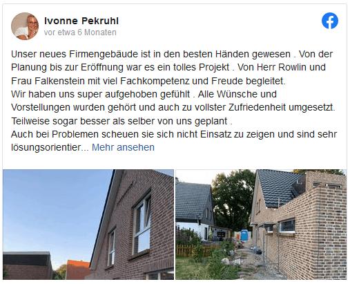 Pekivo Facebook Bewertung Falkenstein