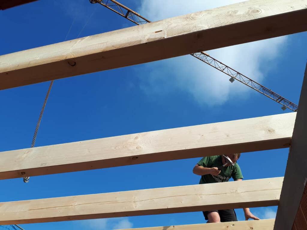 17 Dachstuhl Vollkonstruktionsholz