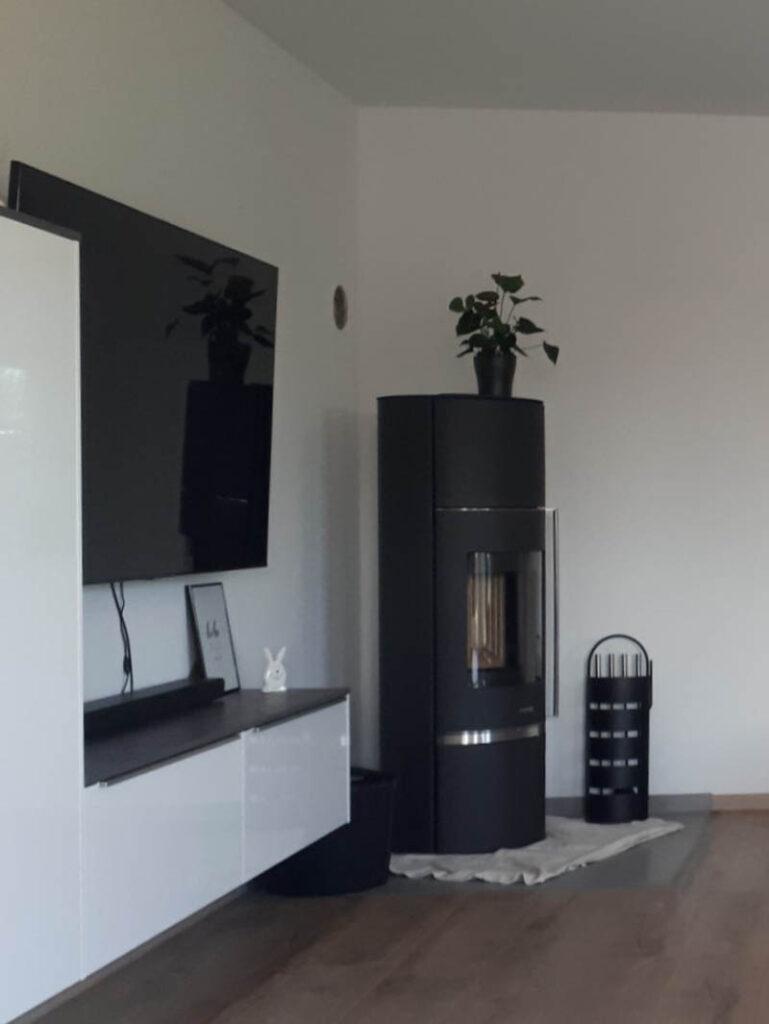 6 Kaminecke Wasserfuehrender Kaminofen Wohnzimmer